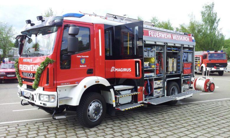Fotografie RedKnights Germany1 Fahrzeugweihe 2017 Feuerwehr Messkirch LF