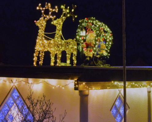 Fotografie RedKnights GER1 Beleuchtung Weihnachtsschlitten