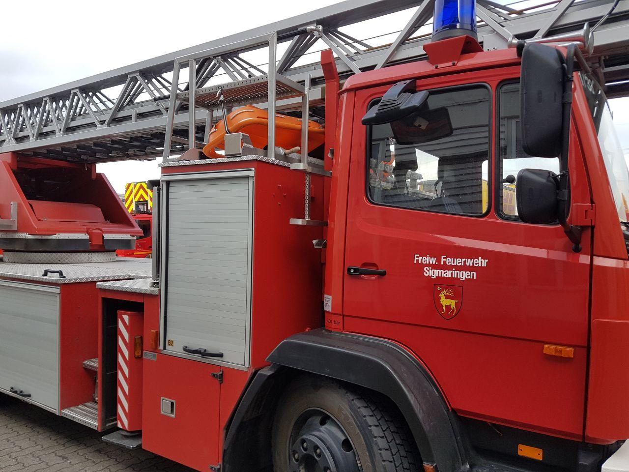 Leiterwagen Freiwillige Feuerwehr Messkirch