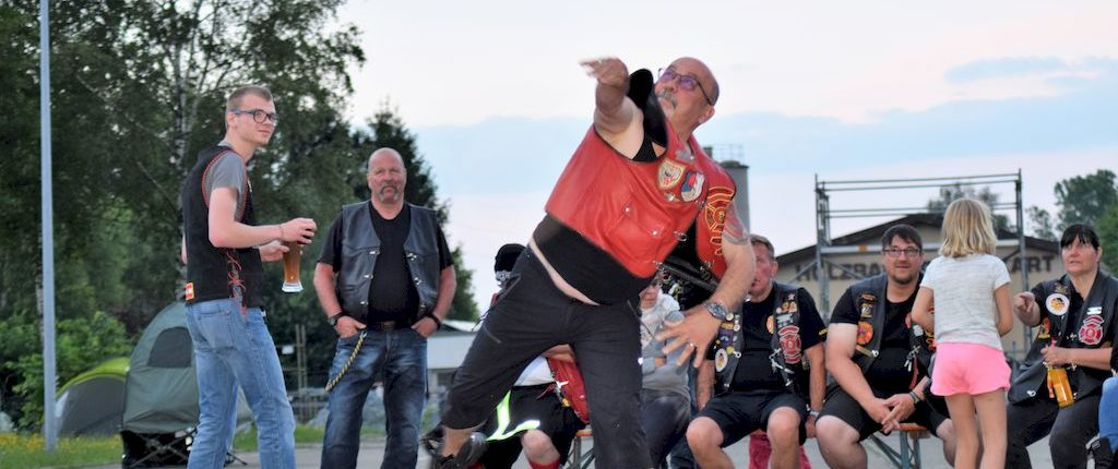 flying helmet sommerparty 2018 redknights germany1 sergant