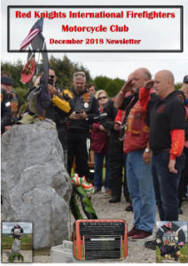 international newsletter december 2018 red-knights cover