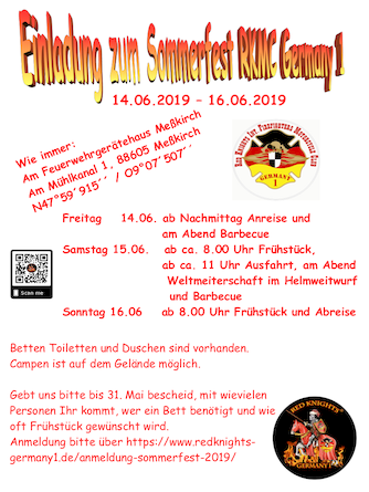 invitation redknights germany1 sommerfest 2019 de