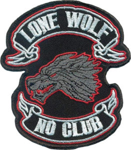 red knights germany1 lonely wolf patch